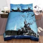 Frigate, The Airforce Attacking Bed Sheets Spread Duvet Cover Bedding Sets