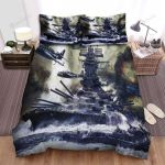 Frigate, Encounter The Air Force Bed Sheets Spread Duvet Cover Bedding Sets