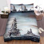 Frigate, Digital Artwork Of The Ships Bed Sheets Spread Duvet Cover Bedding Sets