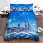 Frigate, Japanese Royal Ship Bed Sheets Spread Duvet Cover Bedding Sets