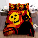 Halloween Owl Beautiful Patterns, Bed Sheets Spread Duvet Cover Bedding Sets