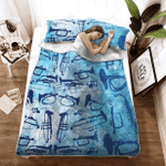 Trumpet Bed Sheets Bedspread Duvet Cover Bedding Set