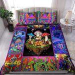 Colorful Hippie Lover Bed Sheets Bedspread Duvet Cover Bedding Set