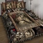Skull You And Me We Got This Bed Sheets Bedspread Duvet Cover Bedding Set