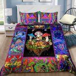 Colorful Mushroom Bed Sheets Bedspread Duvet Cover Bedding Set