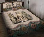 Cats Bed Sheets Bedspread Duvet Cover Bedding Set