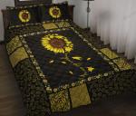 Sunflower Bed Sheets Bedspread Duvet Cover Bedding Set