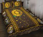 Soflball Sunflower Bed Sheets Bedspread Duvet Cover Bedding Set