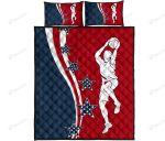 American Baseketball Bed Sheets Bedspread Duvet Cover Bedding Set
