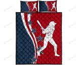 American Softball Bed Sheets Bedspread Duvet Cover Bedding Set