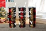 Sweater Weather Merry Christmas Stainless Steel Tumbler, Tumbler Cups For Coffee/Tea