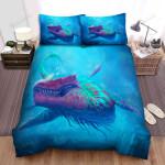 Sea Monster, Brutal Animal Bed Sheets Spread Duvet Cover Bedding Sets