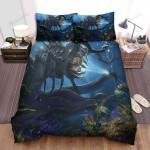Sea Monster, Bug And Diver Bed Sheets Spread Duvet Cover Bedding Sets
