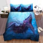 Sea Monster, Real Monster Bed Sheets Spread Duvet Cover Bedding Sets