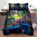 Sea Monster, The Big Party Bed Sheets Spread Duvet Cover Bedding Sets