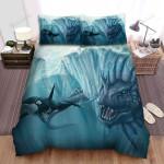 Sea Monster, Killer Became Meal Bed Sheets Spread Duvet Cover Bedding Sets