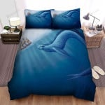 Sea Monster, Following The Sail Boat Bed Sheets Spread Duvet Cover Bedding Sets