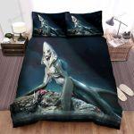 Sea Monster, Shark Mermaid Art Bed Sheets Spread Duvet Cover Bedding Sets