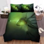 Sea Monster, Looking At Giant Octopus Bed Sheets Spread Duvet Cover Bedding Sets