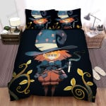 Halloween Glasses Witch So Annoyed Bed Sheets Spread Duvet Cover Bedding Sets