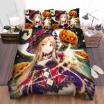 Halloween Charming Witch Attracts All Bed Sheets Spread Duvet Cover Bedding Sets