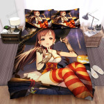 Halloween The Signal Of Witch Bed Sheets Spread Duvet Cover Bedding Sets