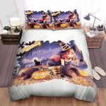 Halloween So Many Candies From Witch Pot Bed Sheets Spread Duvet Cover Bedding Sets