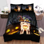 Halloween Holidays For Witch Bed Sheets Spread Duvet Cover Bedding Sets