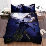 Halloween Giant Skeleton With His Sword Bed Sheets Spread Duvet Cover Bedding Sets