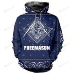 Freemasonry 3D All Over Print Hoodie, Zip-up Hoodie