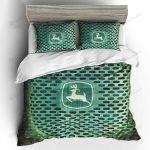 John Deere Tractor Bed Sheets Bedspread Duvet Cover Bedding Set