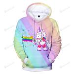 Rainbow Unicorns 3d All Over Print Hoodie, Zip-Up Hoodie