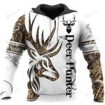 Deer Hunter 3d All Over Print Hoodie, Zip-Up Hoodie