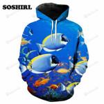 Clownfish Cute  3d All Over Print Hoodie, Zip-Up Hoodie