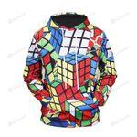 Rubik's Cube For Rubik Holic 3d All Over Print Hoodie, Zip-Up Hoodie