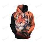 Maxpa Tigers 3d All Over Print Hoodie, Zip-Up Hoodie
