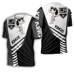 Los Angeles Kings Snoopy For Fans 3D