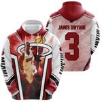 Miami Heat Logo Chris Bosh Lebron James Dwyane Wade For Fan