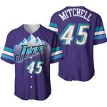 Donovan Mitchell Utah Jazz Purple Jersey Inspired Style