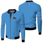 Miami Marlins Alternate 2019 Team Blue Thunder 2019 Jersey Inspired Style