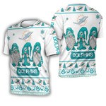 Christmas Gnomes Miami Dolphins Ugly Sweatshirt Christmas 3D