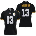 Pittsburgh Steelers James Washington Game Black Jersey Inspired Style
