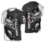 Atlanta Falcons Jack Skellington And Zero