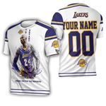 Legend Kobe Bryant Los Angeles Lakers Thank You For The Memories Personalized