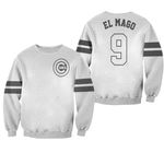 Javier Baez El Mago Chicago Cubs Player White 2019 Jersey Inspired Style