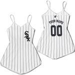 Chicago White Sox Personalized Custom White Black 2019 Jersey Inspired Style
