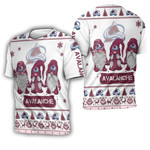 Christmas Gnomes Colorado Avalanche Ugly Sweatshirt Christmas 3D