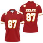 87 Travis Kelce Kannas City Jersey Inspired Style