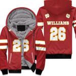 26 Damien Williams Kannas City Jersey Inspired Style