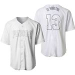 Manny Machado El Ministro San Diego Padres Player White 2019 Jersey Inspired Style